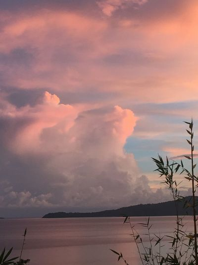Mayotte Island Indian Ocean. View From My Home.