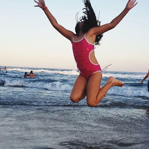 Jump Water Sea