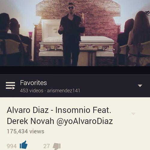 El vídeo y la cancion, uff... algo bien 👌👌👌👌👌 😊😊😊 Insomnio Alvarodiaz