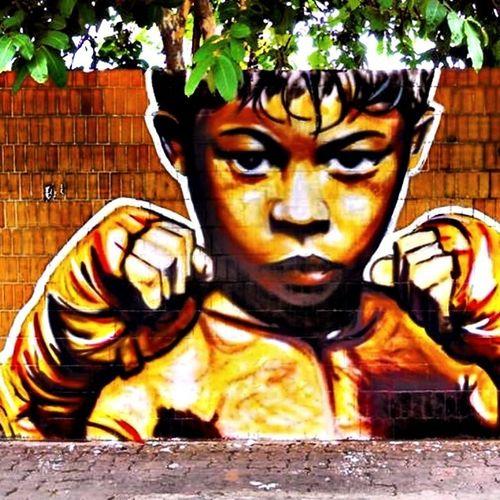 Graffiti Mural CeceNobre