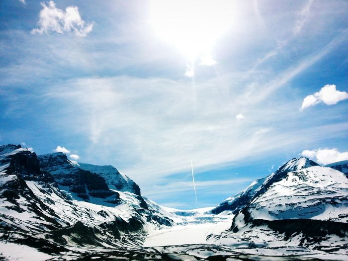 The Icefields of Jasper, Alberta. The Great Outdoors With Adobe