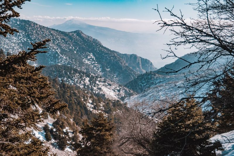 Parnitha Greece Mountains Nature Photo Photography Greece Landscape_photography Landscape_Collection Landscape Nikonphotography Nikon Mountain Snow Nature Winter Beauty In Nature Mountain Range Landscape No People Outdoors Cold Temperature Tree Range Day Sky