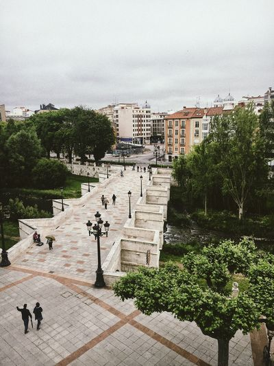 Architecture Built Structure Building Exterior Tree Day Outdoors Sky History No People Water Nature Animal Themes City VSCO Tranquility Streetphotography Travel SPAIN Burgos Hello World Eye4photography  Taking Photos Lifestyles Weekend Activities Two People
