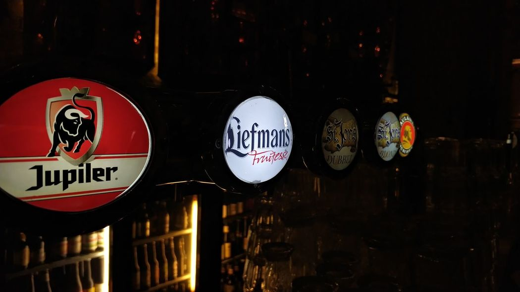 Beers Bar #Boterhal PhonePhotography Madewithphone Beer Bar Alcohol Text Communication No People Day Outdoors