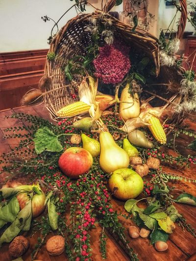 Cornucopia. Arrangement in a church to celebrate the Harvest Festival. Vegetable Fruit Food And Drink Indoors  Food Healthy Eating No People Day Freshness Close-up Cornucopia Harvest Festival Harvest Celebrations Fresh Produce Fresh Food Fresh Fruits Food Stories