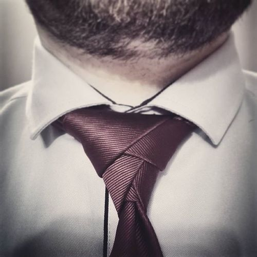 Eldredge Tie Knot Elegant Business