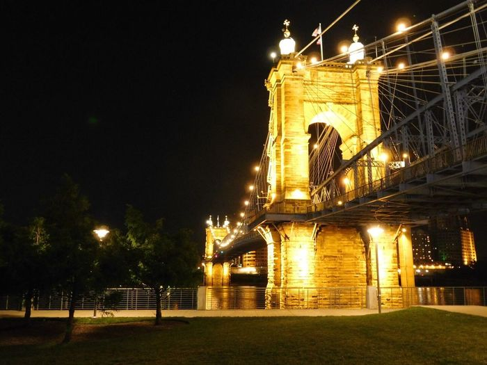 Picture of a Bridge next to Smale Park in Cincinatti, OH Bridge - Man Made Structure First Eyeem Photo