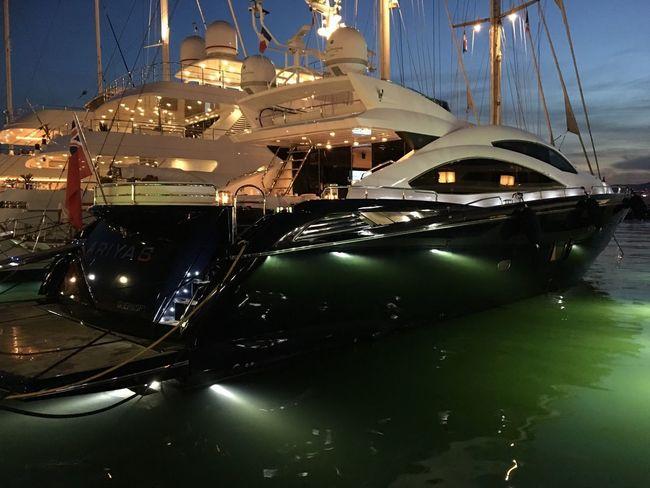 Transportation No People Nautical Vessel Mode Of Transport Night Illuminated Outdoors Moored Sky