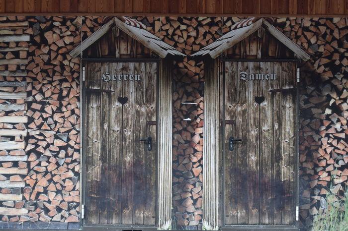 Toilets Door Wc Saalbach Hinterglemm