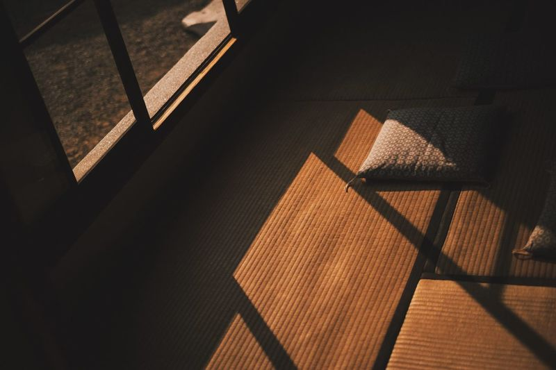 Window Japan Tatami Japanese  Japan Photography Japanese Style Shadow Sunlight No People Pattern Architecture Nature Indoors