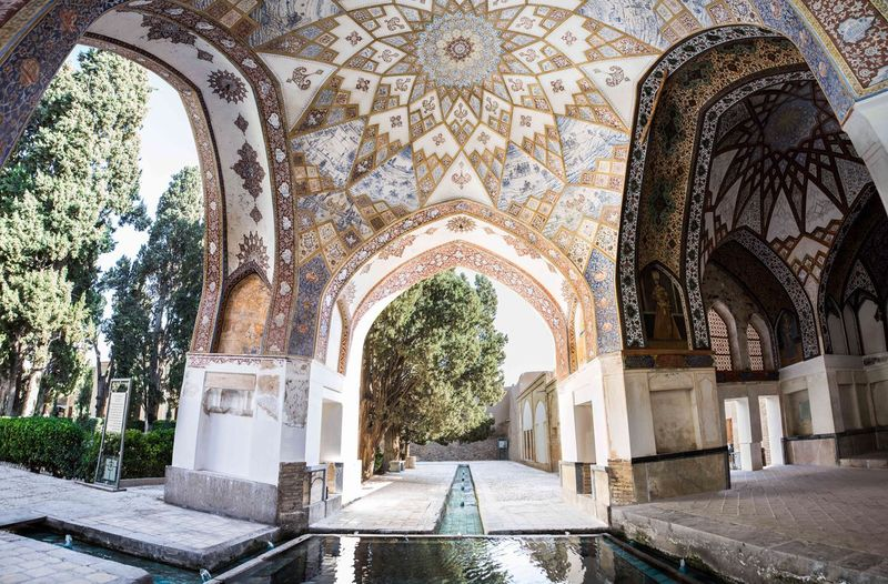 Fin Garden (Persian: باغ فین Bagh-e Fin) located in Kashan, Iran, is a historical Persian garden. It contains Kashan's Fin Bath, where Amir Kabir, the Qajarid chancellor, was murdered by an assassin sent by King Nasereddin Shah in 1852. Completed in 1590, the Fin Garden is the oldest extant garden in Iran. The Architect - 2018 EyeEm Awards EyeEmNewHere 17.62° The Architect - 2019 EyeEm Awards