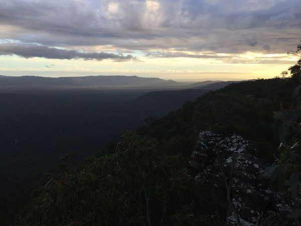 Grampian National Park Australian Landscape Nature View Beautiful Sky And Clouds