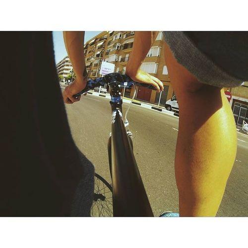 Fixie Fixiegram Fixedgear Bike SJCAM Ride