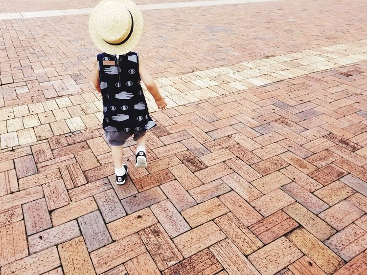 Outdoors Inspirations GalaxyS8+ EyeEmNewHerе One Boy Only Casual Clothing Straw Hat Sumsung Japan Galaxy Childhood Boy Child Kids Standing One Person Boys Children Only