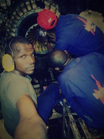 who likes getting their hands dirty?! Power Plant Turbocharger Overhaul Job Of The Day Modern Workplace Culture Men