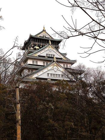 Osaka Castle!