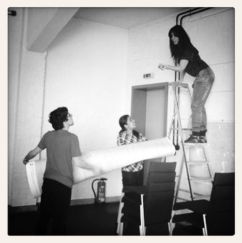 Bauhaus My Style Preparing Exhibition When You Are The Tallest