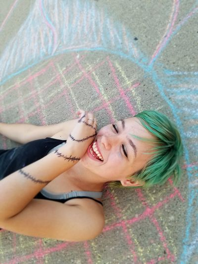 chalk giggles People Girl Mom Haircolor Beautiful Girl The Portraitist - 2016 EyeEm Awards Chalk Art Chalk Summer The Outdoors - 2016 Eyeem Awards Kids Having Fun Kids Being Kids Kidsphotography Iowa Midwest Iowa MidWest Art, Drawing, Creativity ArtWork Art Funny Moments Glasses My Daughter The Essence Of Summer People And Places. The Portraitist - 2017 EyeEm Awards