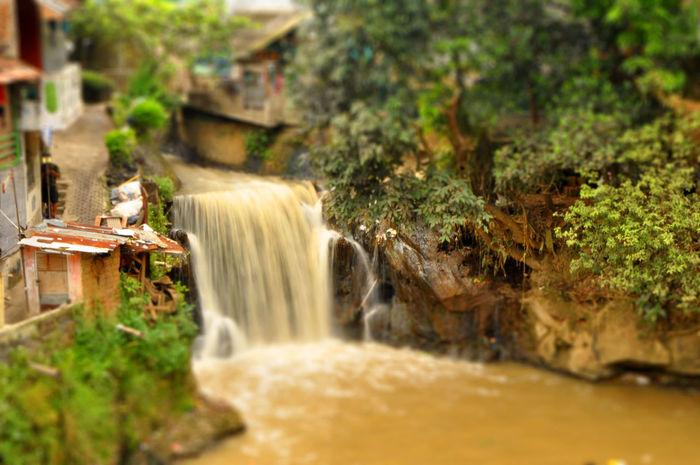 Tilt Shift Effect Tiltshift Water Falls River