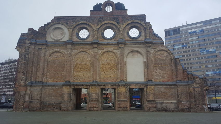 Anhalter Bahnhof Berlin War Politics And Government City History Architecture Building Exterior Built Structure