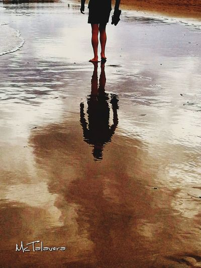 Reflejos Beach 😎 Low Section Water Puddle Human Leg Politics And Government City Reflection Wet Leg Sky
