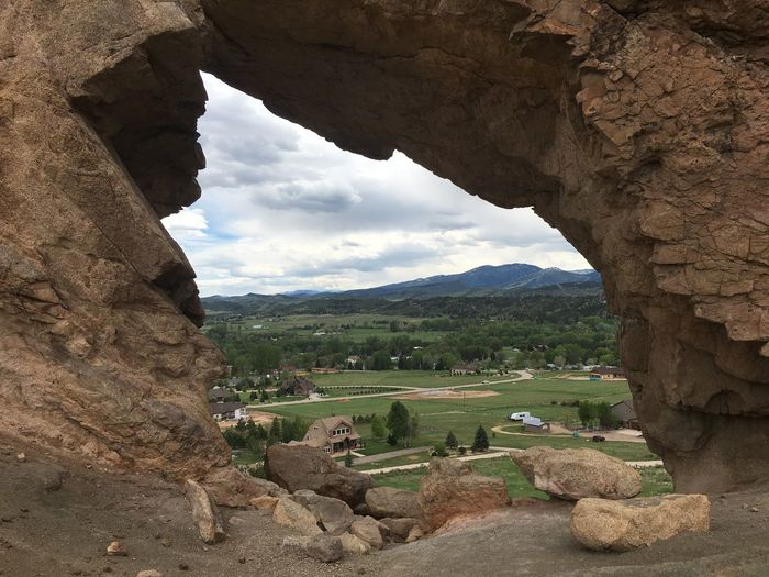 Colorado Architecture Beauty In Nature Day Devil's Backbone Geology Keyhole Landscape Mountain Nature No People Outdoors Physical Geography Rock - Object Rock Formation Scenics Sky