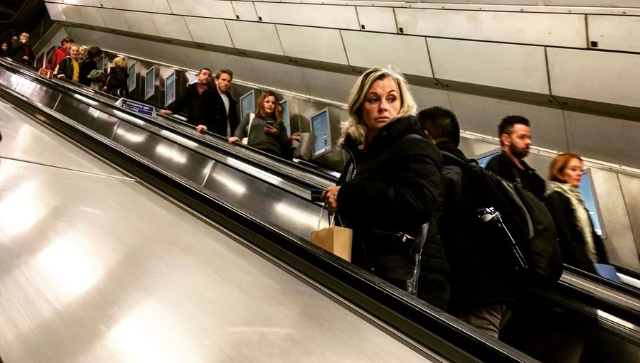 #LondonTube 1 Travelling home Escalator Tube Group Of People Men Architecture Real People Subway Station Women The Street Photographer - 2018 EyeEm Awards Transportation Public Transportation Travel Indoors  Adult The Street Photographer - 2018 EyeEm Awards The Street Photographer - 2018 EyeEm Awards #urbanana: The Urban Playground #urbanana: The Urban Playground It's About The Journey
