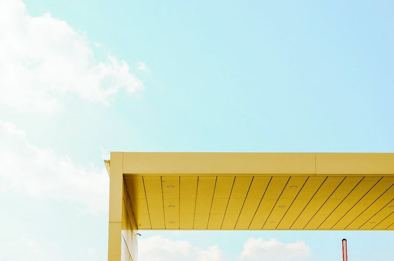 Architecture Sunny Minimalism Colors Warm Lines Beauty