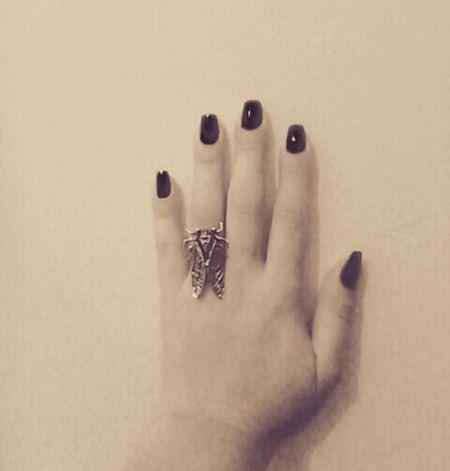 Insecte sur les mains