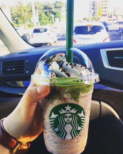 Starbucks Frappucino Matcha Chocolate Japan 🌿🍵🍫😘