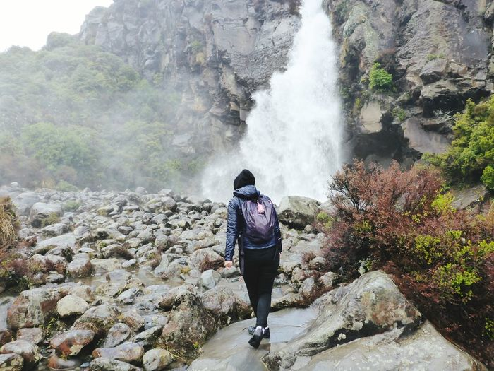 Backpacker Newzealand Outdoors Waterfall EyeEmNewHere Live For The Story Lost In The Landscape