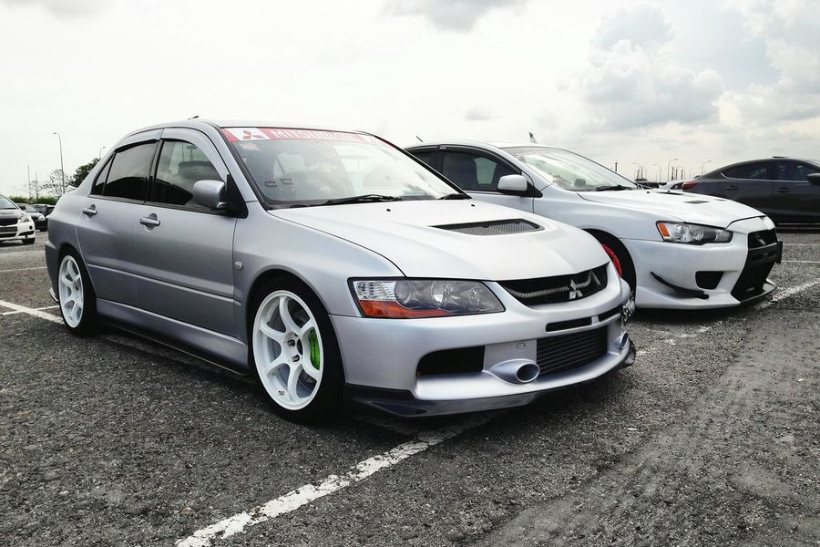 Evo Generations Mitsubishi Evo Automotive Car