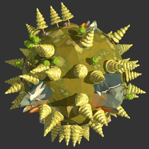 3D Art 3D Photo 3d Model 3d Rendering Graphic Low Poly Nature Scenic TaoTeChing Travel Abstract C4dart Design Forest Game Geometric Graphic Design Illustration Low Poly Art Low Poly Planet World