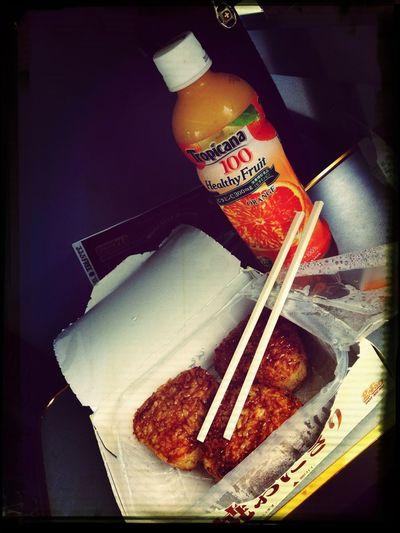 Breackfast At The Train!!! :)