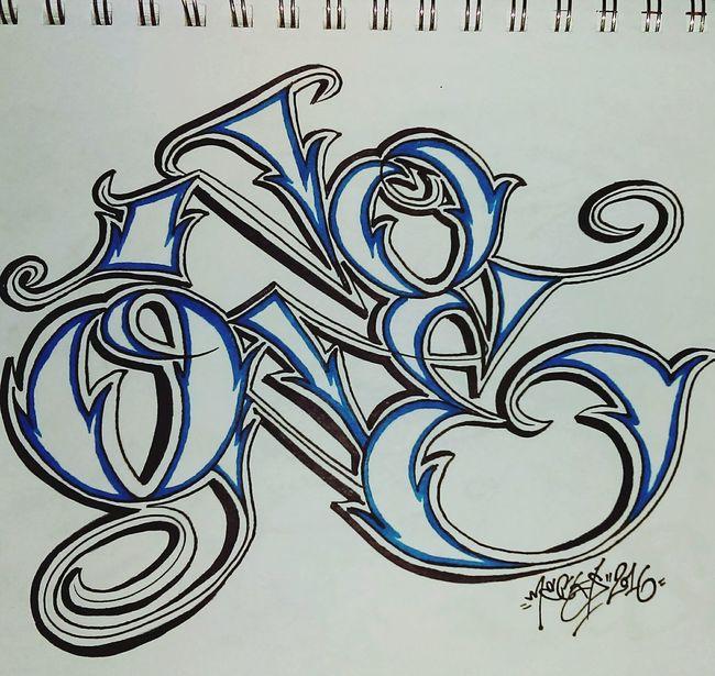 No one No One Graffiti Graffitiporn Type Typograffiti Mecks1 Typography Sharpie Sharpie Art Art Art, Drawing, Creativity DOPE