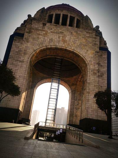 Monumento a la revolución Mexicana, Ciudad de México Mexico City Monumento A La Revolucion Monuments Historical Building Arquitecture Morning Visit México 🇲🇽🇲🇽
