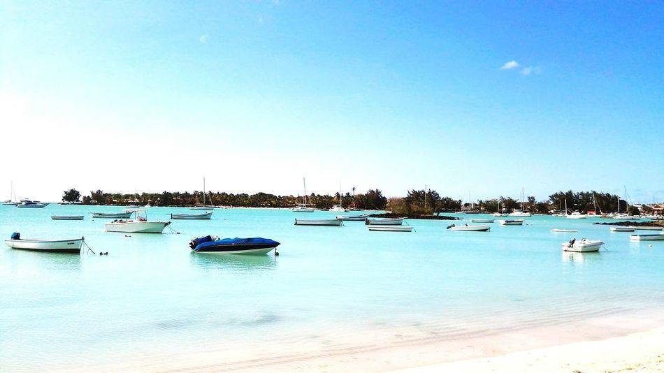 Honeymoon at The Beach House, Grand Baie Mauritius Beachside Catamaran Fishing Boat Lunch Time!