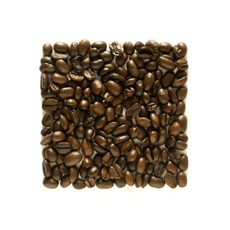 Square of coffee beans on white background - coffee minimalism EyeEmReady EyeEmNewHere White Background Studio Shot Studio Shoot Square Shape On White Minimalism Minimal Group Of Objects Freshness Food Porn Coffee Beans Coffee Bean Close-up Caffeine Addict Brown Backgound Square No Peoples Food And Drink Coffee Time Coffee Caffeine