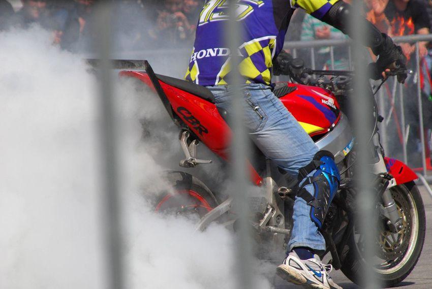 Motorcycle Sports Race Day Motorcycle Racing Smoke