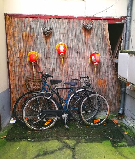 Sport Hanging Bicycle Rack No People Architecture