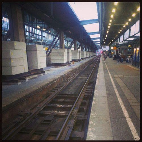 Das leere Gleis...
