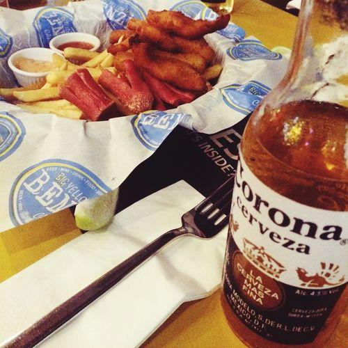 Corona Beer Cips Relaxing Antalya Hello World
