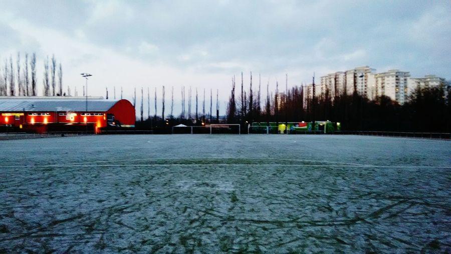 Empty Football Pitch