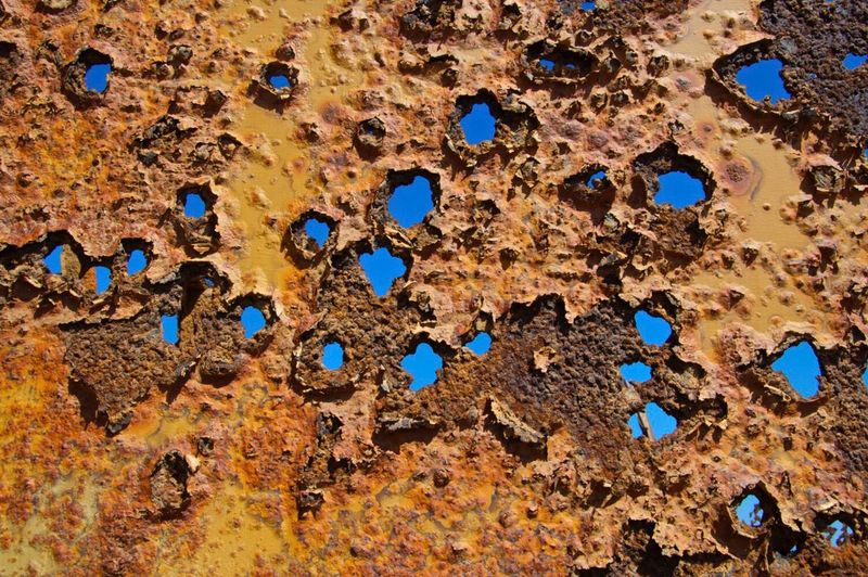 Fleeting Desert Beauty Namibia Desert Namib Desert Rust Rusty Metal Rusty Things Ochre No People April Showcase Dry Textures And Surfaces Textured  Texture Africa Transient Age