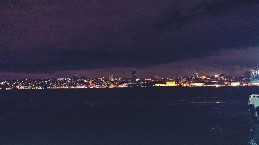 Istanbul EuropeanSide Night LostInABeautifulCity Iwantback