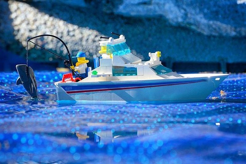 Off early..gone fishin! Toyonlocation Toy_nerds LEGO Legoboat Legofishingboat Wheretoysdwell Wheretoysdwell_photofeatures Pensacola_toynerds Toyphotography Toyartistry Toptoyphotos Toydiscovery Legofeature Lego_challenge Legos Fishing _tyton_ Capturedplastic