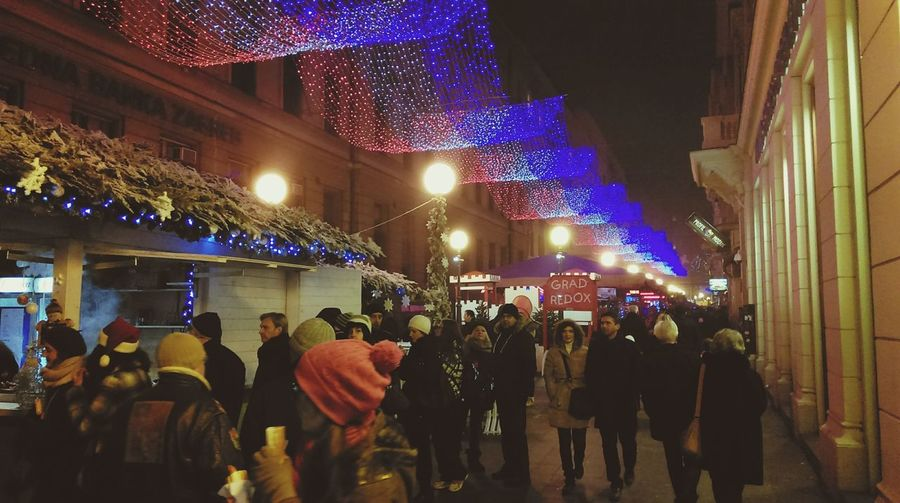 Adventuzagrebu Zagreb Tak Imam Te Rad Zagreb, Croatia Zagreb U Srcu Christmastime Advent
