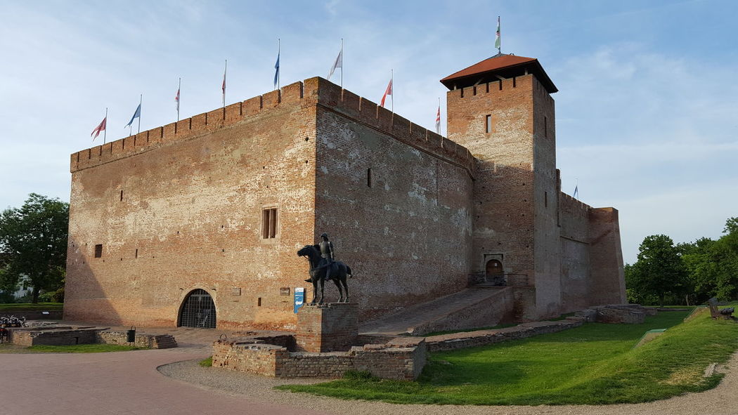 Architecture History No People Business Finance And Industry Built Structure Outdoors Day Building Exterior Sky Factory Gyula, Hungary Castle Old Buildings Old Architecture