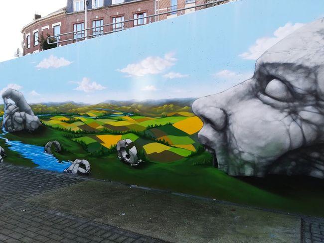 Streetart StreetArtEverywhere Streetartphotography Urban Art Art Propaganza Bruxelles Street Art Colors Day Outdoors No People