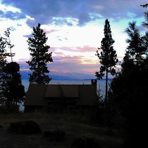 The sun is slowly setting at Flathead ; ending a great day. I jumped in the lake and swam for the first time in years. It was so nice to see all the kiddos having such a great time and being kids. Workishard ILoveMyJob Montana sunset agreatday